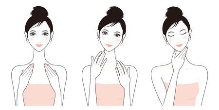 woman headache: Woman skin care, Beauty,