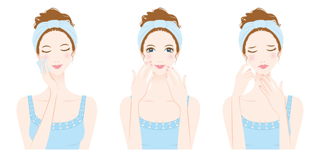 facial care: Woman skin care, Beauty