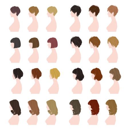 woman hair: women hairstyle