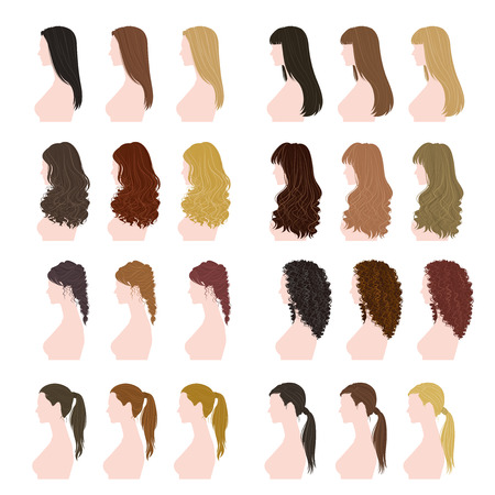 hair color: women hairstyle