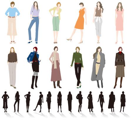 the whole body: Womens fashion