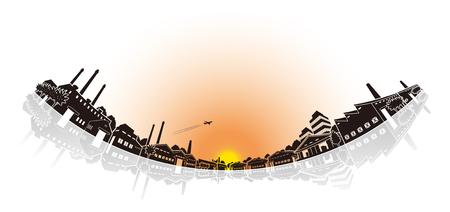 transportation facilities: Industrial area