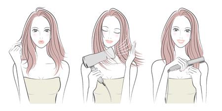 Women who do hair care