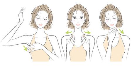 女性の式  イラスト・ベクター素材