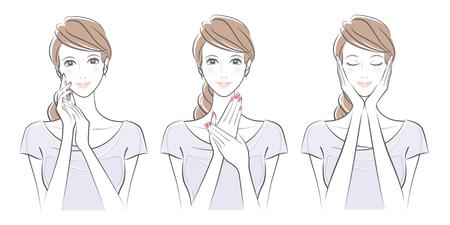 여자의 표현