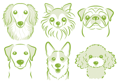 Dog illustration Ilustracja