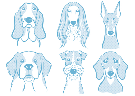 Dog illustration Ilustracja