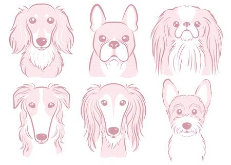 Dog illustration Illustration