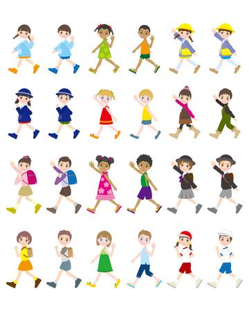 子供のための様々な人々のイラスト