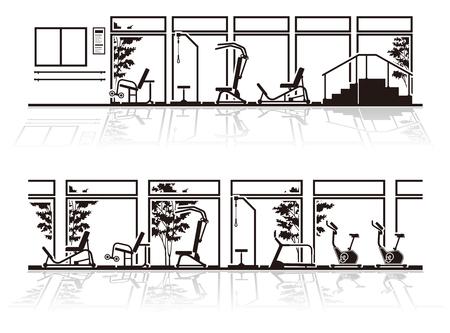 Illustration of rehabilitation