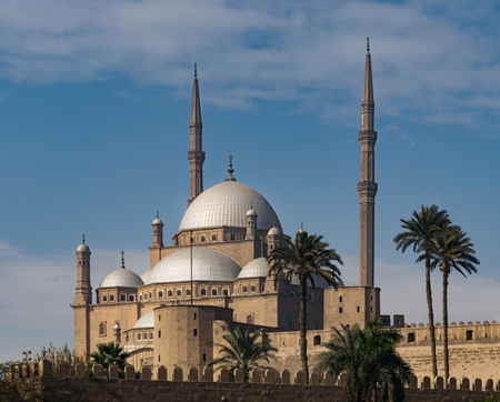 ali: The great Mosque of Muhammad Ali Pasha Alabaster Mosque, situated in the Citadel of Cairo in Egypt, commissioned by Muhammad Ali Pasha between 1830 and 1848. Considered as one of the landmarks and tourist attractions of Cairo