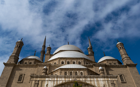 the eighteenth: The great Mosque of Muhammad Ali Pasha Alabaster Mosque, situated in the Citadel of Cairo in Egypt, commissioned by Muhammad Ali Pasha between 1830 and 1848. Considered as one of the landmarks and tourist attractions of Cairo