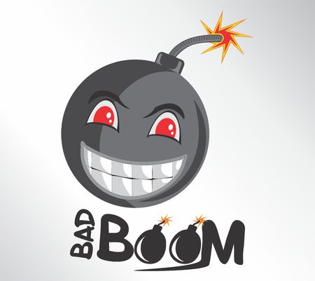 BOOM Design Cartoon 向量圖像