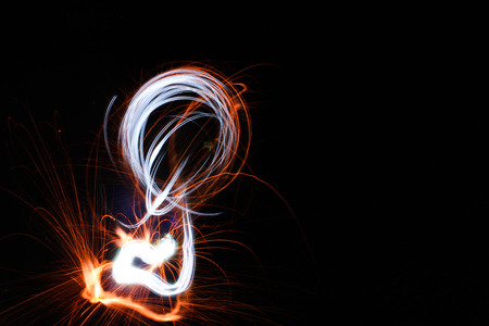 light painting: Abstract light painting