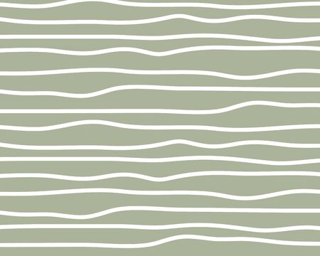 Wavy stripes background. Thin hand drawn uneven waves vector pattern. Striped abstract template. Cute wavy streaks texture. vector Illustration 向量圖像
