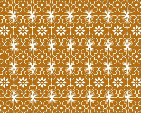 Wallpaper in the style of baroque. Ornate damask flower ornament. 2020