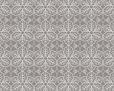 Abstract pattern in arabian style. The geometric abstract pattern. Ilustrace