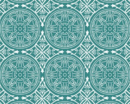 Geometric ornamental vector pattern. Abstract background. 2020