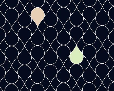 Beautiful geometric pattern background. Minimal geometric pattern style. Banco de Imagens - 150279121