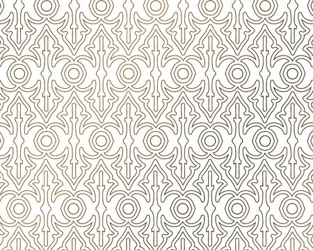 Elegant geometric pattern design. vector