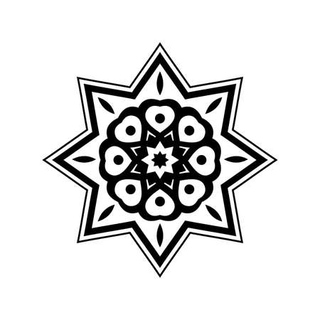 Traditional geometric pattern design. Arabic ornamnet style. Vector Illustration