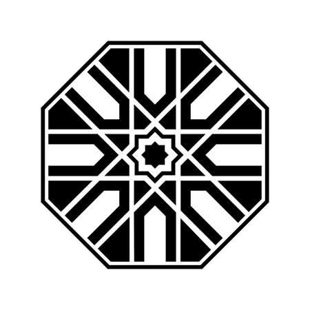 Traditional geometric pattern design. Arabic ornamnet style. Vector