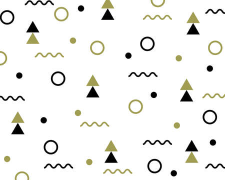 Pattern hipster style. Beautiful patterns geometric elements. Pattern suitable for posters, postcards, fabric or wrapping paper. vector illustration