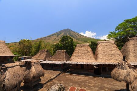 Bena traditional village, near Bajawa, Flores, Indonesia