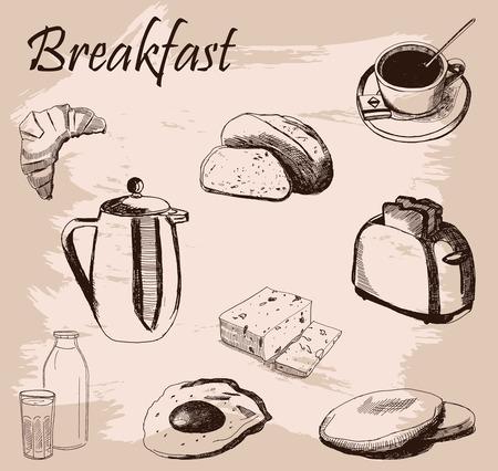 scrambled: breakfast set