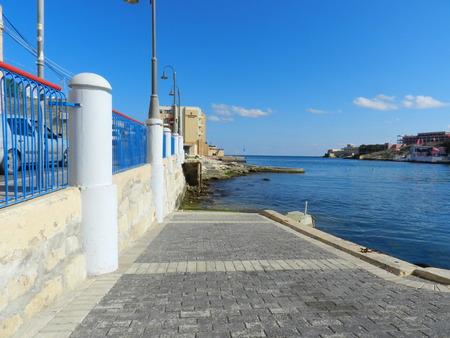 promenade: Promenade near sea