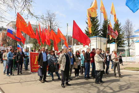 kirov: Russia, Kirov – May 09, 2016: Celebration of the victory in the second world war in 2016 in Kirov city Editorial