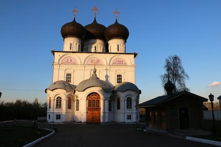 kirov: Russia, Kirov - May 08, 2016: Trifonov monastery in 2016 in Kirov city