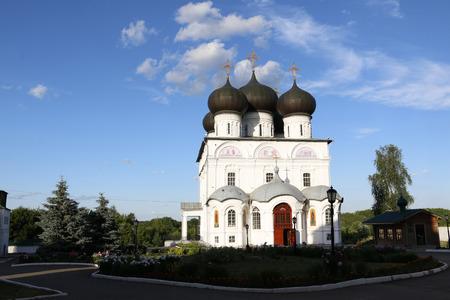 kirov: Russia, Kirov - June 26, 2016: Trifonov monastery in 2016 in Kirov city Editorial