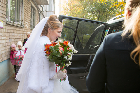 kirov: Russia, Kirov - Wedding and marriage registration at the registry office in Kirov city in 2016