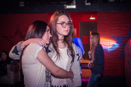 kirov: Russia, Kirov - November, 13, 2016: Big party for young people in Kirov city in 2016 Editorial