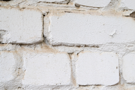 Texture of the wall for background. Roughness and irregularity. Building material brick Stok Fotoğraf