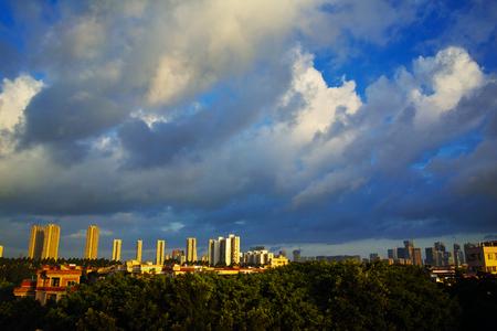 空の雲 写真素材