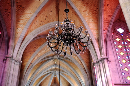 chandelier: church chandelier
