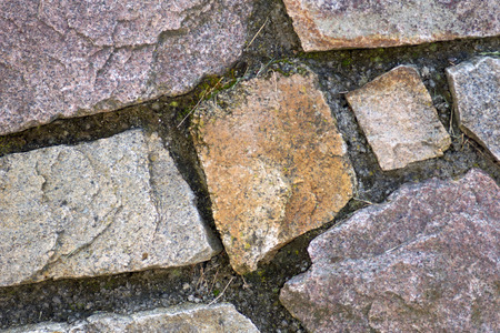 Detail of a stone wall photo