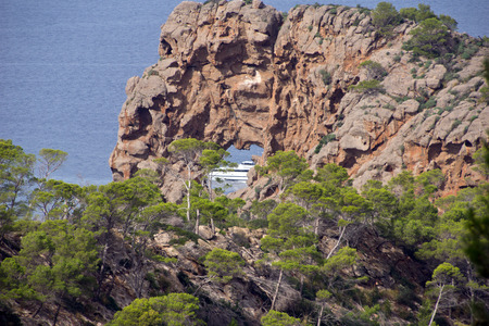Sa Foradada - mediterranean island majorca photo