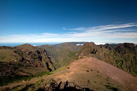 Way to Pico do Arieiro, Madeira photo