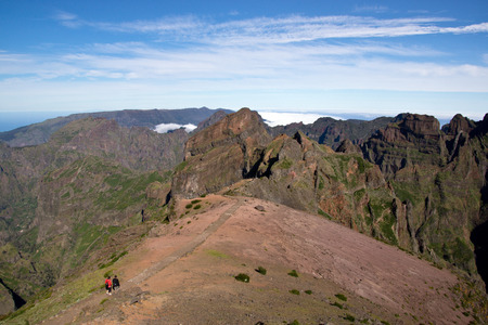 Way to Pico do Arieiro, Madeira photo