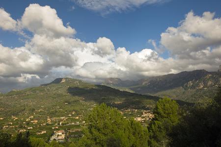 Mallorca mountain view photo