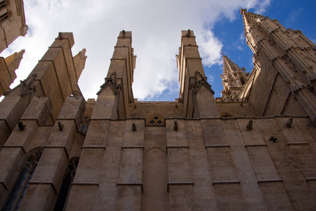 Cathedral La Seu in Palma de Mallorca photo