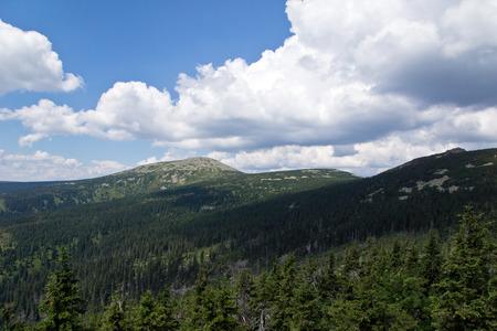 krkonose: Krkonose Mountains in Czech Republic
