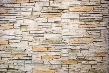 Muro De Piedra Natural. Gran fondo o la textura