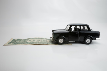 Toy old car for one dollar