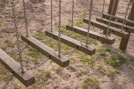 Detail Of Children Playground In The Park photo