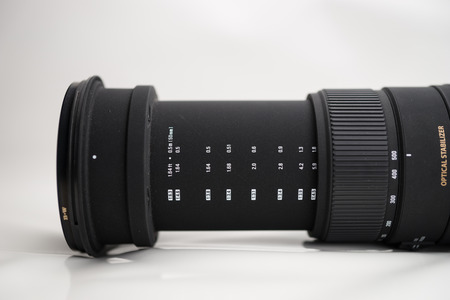 telephoto: Telephoto lens from the mirror camera
