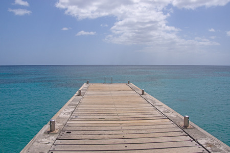martinique: Martinique island sea and pier